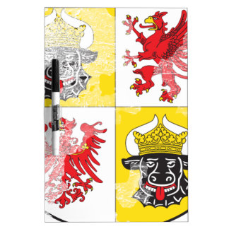 Coat of arms of Mecklenburg Western Pomerania Dry Erase Whiteboards