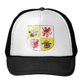 Coat of arms of Mecklenburg Western Pomerania Mesh Hats
