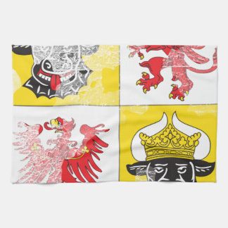 Coat of arms of Mecklenburg Western Pomerania Hand Towels