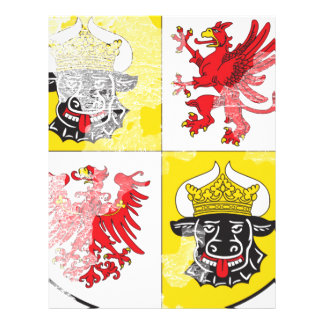 Coat of arms of Mecklenburg Western Pomerania Letterhead Design