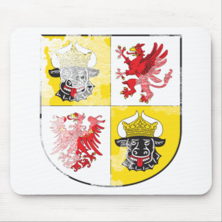 Coat of arms of Mecklenburg Western Pomerania Mouse Pads