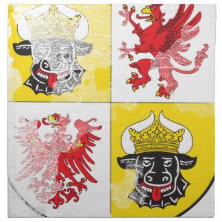 Coat of arms of Mecklenburg Western Pomerania Napkin