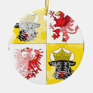 Coat of arms of Mecklenburg Western Pomerania Christmas Tree Ornaments