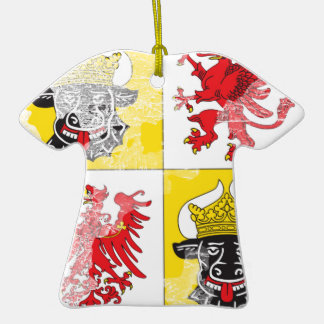 Coat of arms of Mecklenburg Western Pomerania Christmas Tree Ornament