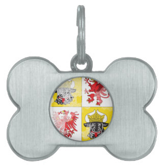 Coat of arms of Mecklenburg Western Pomerania Pet ID Tag