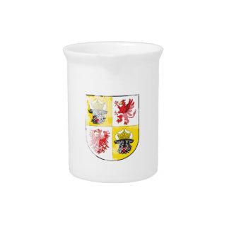 Coat of arms of Mecklenburg Western Pomerania Beverage Pitcher