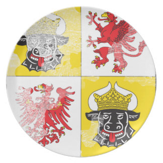 Coat of arms of Mecklenburg Western Pomerania Party Plates