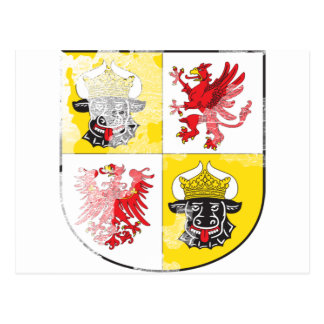 Coat of arms of Mecklenburg Western Pomerania Post Cards