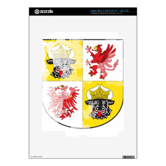 Coat of arms of Mecklenburg Western Pomerania Skins For iPad 3