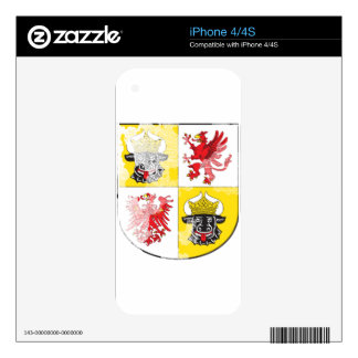 Coat of arms of Mecklenburg Western Pomerania Skin For The iPhone 4S