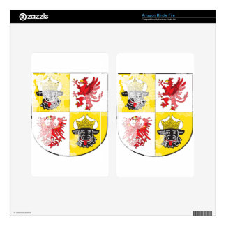 Coat of arms of Mecklenburg Western Pomerania Skins For Kindle Fire