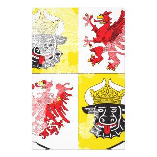 Coat of arms of Mecklenburg Western Pomerania Customized Stationery