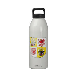 Coat of arms of Mecklenburg Western Pomerania Reusable Water Bottle