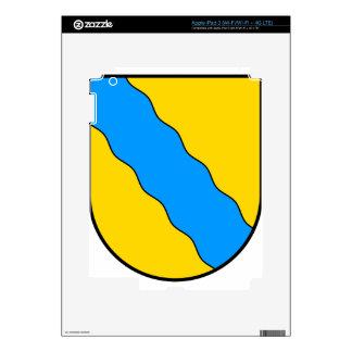 Coat_of_arms_of_Neckarmühlbach Pegatina Skin Para iPad 3