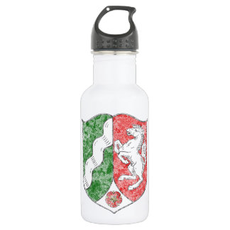 Coat of arms of North Rhine Westfalia 18oz Water Bottle