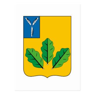 Coat of Arms of Novoburassky rayon Postcard