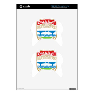 Coat_of_Arms_of_Orasje. Xbox 360 Controller Decal