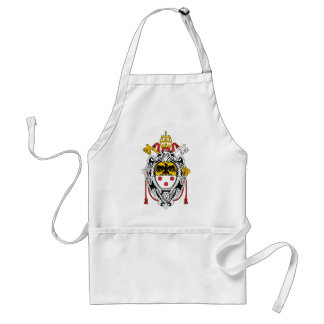 Coat of Arms of Pope Pius XI Adult Apron