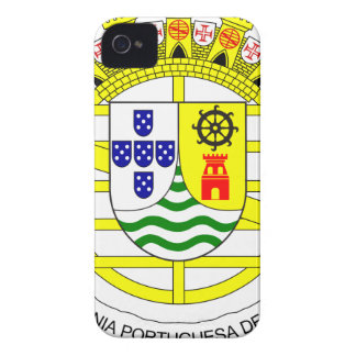 Coat_of_arms_of_Portuguese_India_ (1935-1951) Carcasa Para iPhone 4 De Case-Mate
