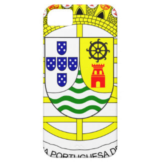 Coat_of_arms_of_Portuguese_India_ (1935-1951) Funda Para iPhone SE/5/5s