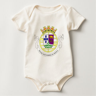 Coat_of_arms_of_Portuguese_West_Africa_(195 Baby Bodysuit