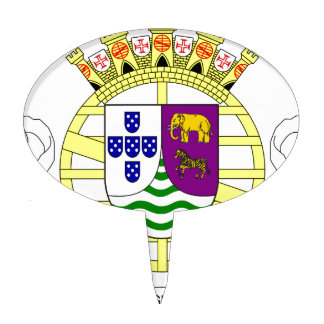 Coat_of_arms_of_Portuguese_West_Africa_(195 Cake Topper