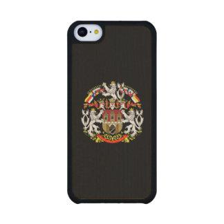 Coat of Arms of Prague Carved® Maple iPhone 5C Slim Case