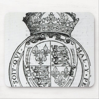 Coat of Arms of Queen Elizabeth I Mouse Pad
