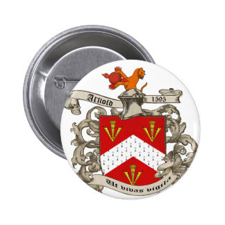 Coat of Arms of Richard Arnold of Dorset England Buttons