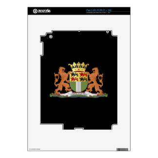 Coat of arms of Rotterdam Decal For iPad 2