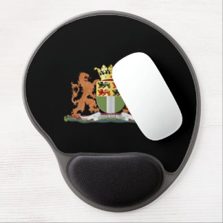 Coat of arms of Rotterdam Gel Mouse Pad