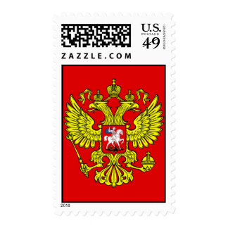 Coat of Arms of Russia Postage Stamp