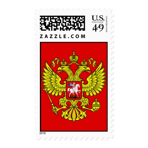 Coat of Arms of Russia Postage
