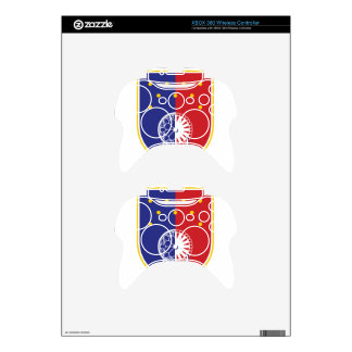 Coat_of_arms_of_Sarajevo_Canton Xbox 360 Controller Decal