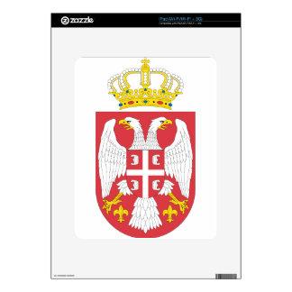Coat_of_arms_of_Serbia_small_ (2004_-_2010) iPad Calcomanías