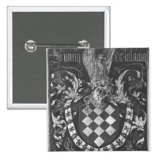 Coat of Arms of Simon de Lalaing Pinback Button
