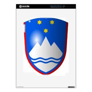 Coat_of_arms_of_Slovenia_2 iPad 2 Calcomanías