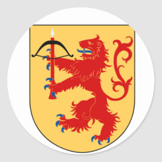 coat of arms of Småland Sticker