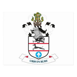 Coat of arms of Solihull Metropolitan Borough Postcard