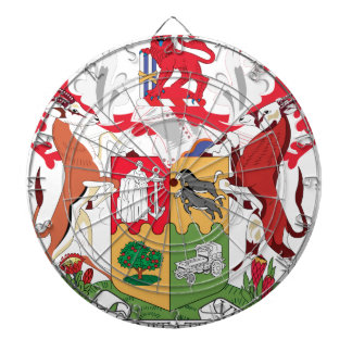 Coat_of_Arms_of_South_Africa_(1932-2000) Dart Board
