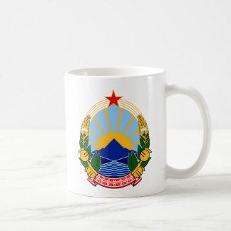 Coat of arms of SR Macedonia Coffee Mug
