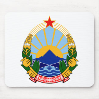 Coat of arms of SR Macedonia Mouse Pad