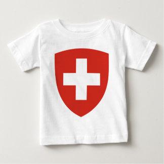 Coat of Arms of Switzerland - Wappen der Schweiz Baby T-Shirt