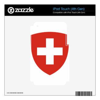 Coat of Arms of Switzerland - Wappen der Schweiz iPod Touch 4G Skins