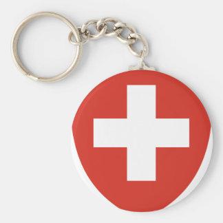 Coat of Arms of Switzerland - Wappen der Schweiz Keychain