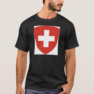 Coat of Arms of Switzerland - Wappen der Schweiz T-Shirt