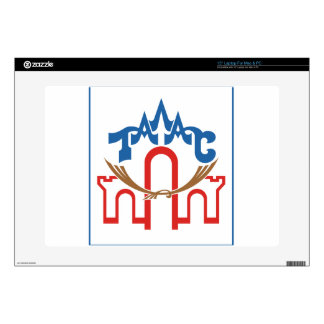 "Coat_of_arms_of_Talas_Province_Kyrgyzstan 15"" Laptop Decal"