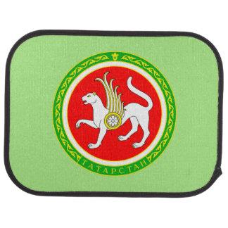 Coat of arms of Tatarstan Car Floor Mat