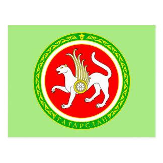 Coat of arms of Tatarstan Postcard