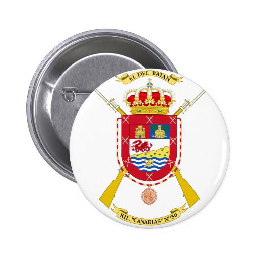 Coat of Arms of the 50th Light Infantry Regiment Pin